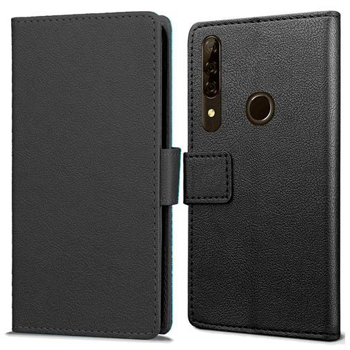 Productafbeelding van de Just in Case Wallet Case Black Honor 9X