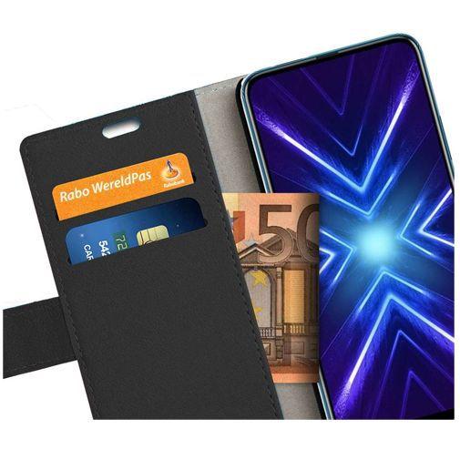 Productafbeelding van de Just in Case Wallet Case Black Honor 9X