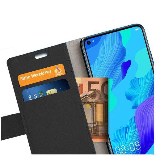 Productafbeelding van de Just in Case Wallet Case Black Huawei Nova 5T