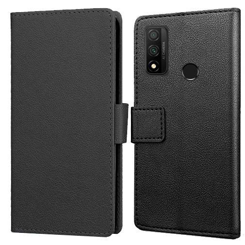 Productafbeelding van de Just in Case Wallet Case Black Huawei P Smart (2020)