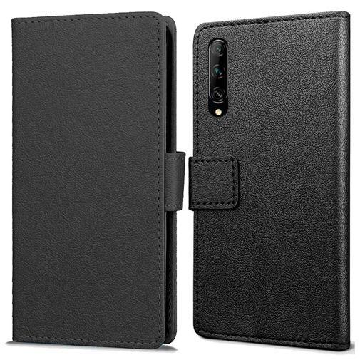 Produktimage des Just in Case Wallet Case Schwarz Huawei P Smart Pro