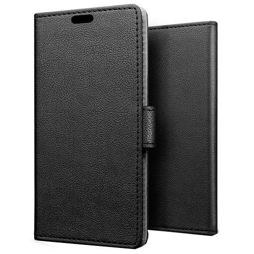 Productafbeelding van de Just in Case Wallet Case Black Huawei Y5p
