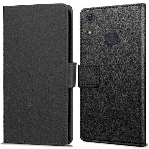Produktimage des Just in Case Wallet Case Schwarz Huawei Y6S