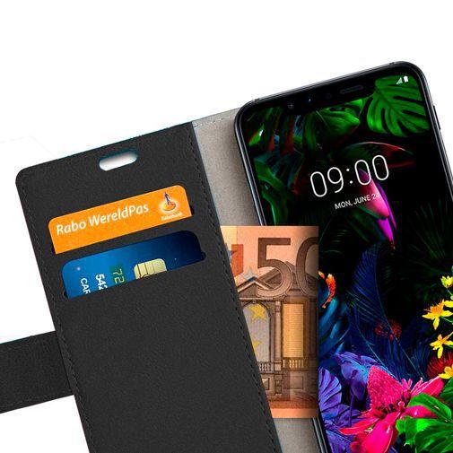 Productafbeelding van de Just in Case Wallet Case Black LG G8s ThinQ