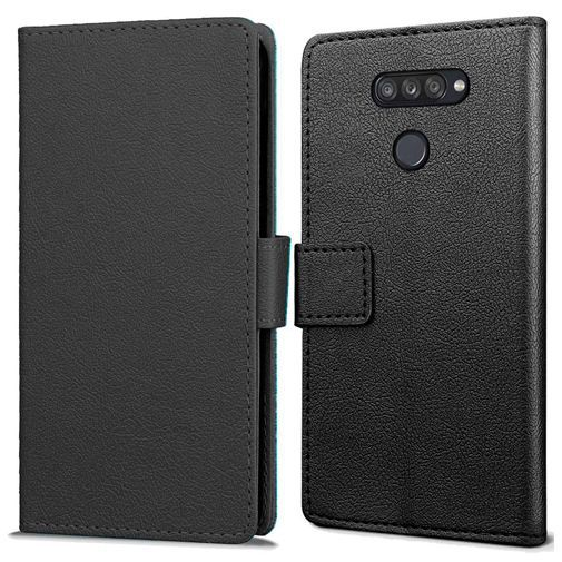 Productafbeelding van de Just in Case Wallet Case Black LG K50s