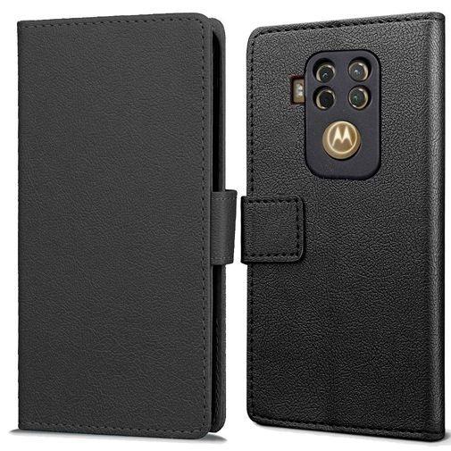 Productafbeelding van de Just in Case Wallet Case Black Motorola One Zoom