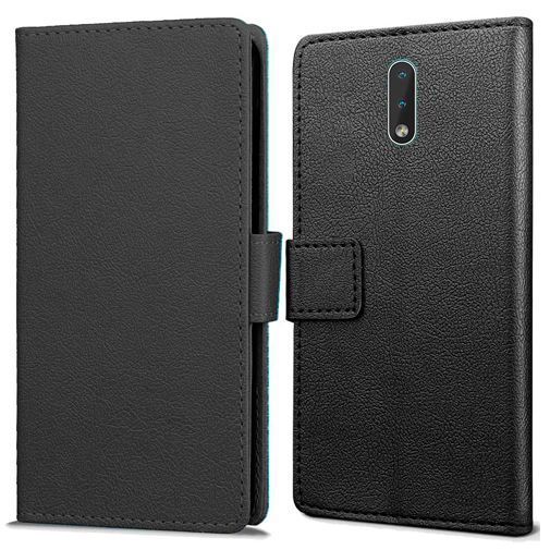Produktimage des Just in Case Wallet Case Schwarz Nokia 2.3