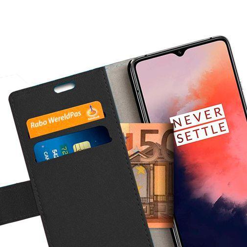 Productafbeelding van de Just in Case Wallet Case Black OnePlus 7T Pro