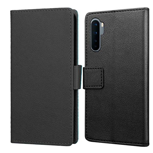 Productafbeelding van de Just in Case Wallet Case Black OnePlus Nord