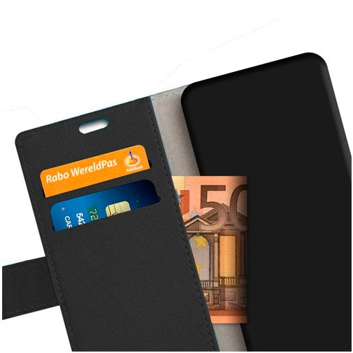 Productafbeelding van de Just in Case Wallet Case Black Oppo A12