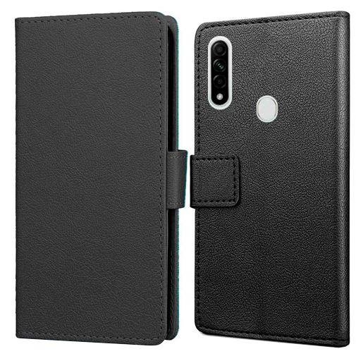 Productafbeelding van de Just in Case Wallet Case Black Oppo A31