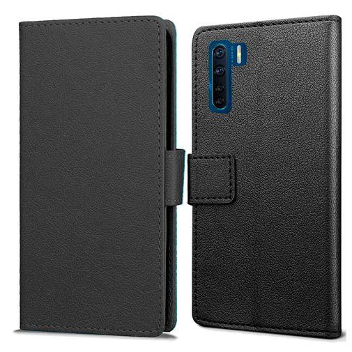 Productafbeelding van de Just in Case Wallet Case Black Oppo A91