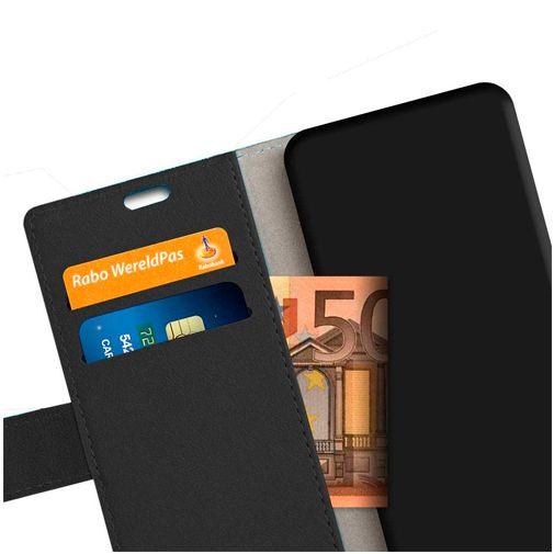 Productafbeelding van de Just in Case Wallet Case Black Oppo Find X2 Neo
