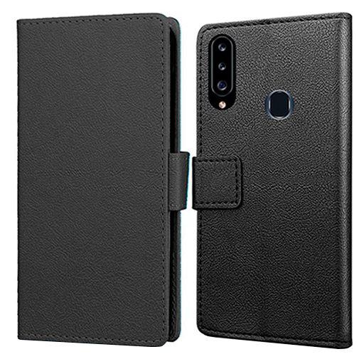 Productafbeelding van de Just in Case Wallet Case Black Samsung Galaxy A20s