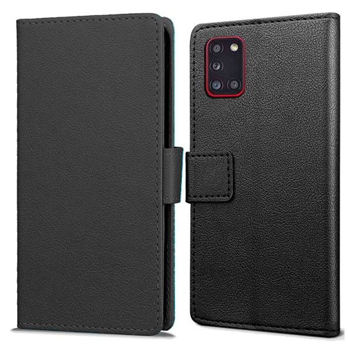 Productafbeelding van de Just in Case Wallet Case Black Samsung Galaxy A31