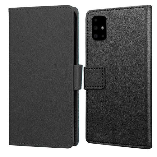 Produktimage des Just in Case Wallet Case Schwarz Samsung Galaxy A51 4G