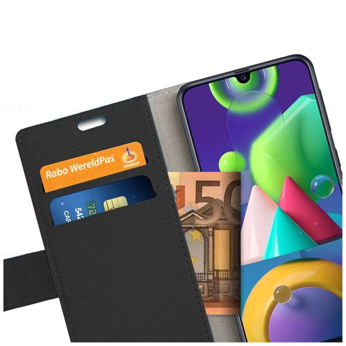 Productafbeelding van de Just in Case Wallet Case Black Samsung Galaxy M21