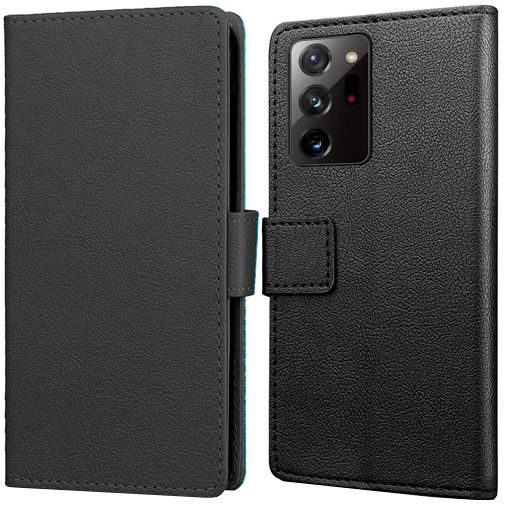 Productafbeelding van de Just in Case Wallet Case Black Samsung Galaxy Note 20 Ultra