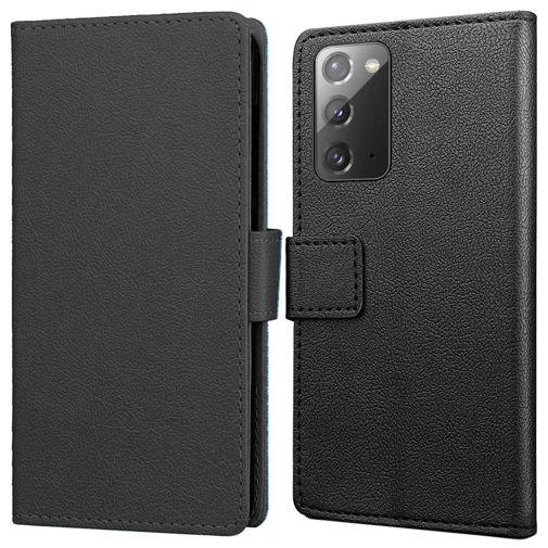 Productafbeelding van de Just in Case Wallet Case Black Samsung Galaxy Note 20