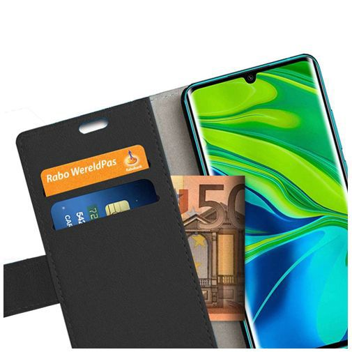 Productafbeelding van de Just in Case Wallet Case Black Xiaomi Mi Note 10/Note 10 Pro