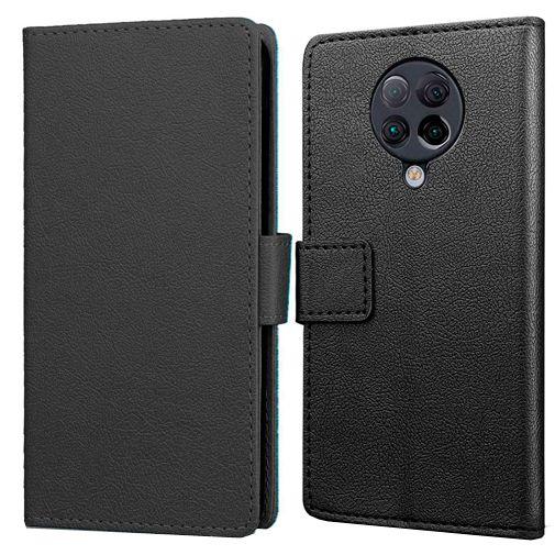 Productafbeelding van de Just in Case Wallet Case Black Xiaomi Poco F2 Pro