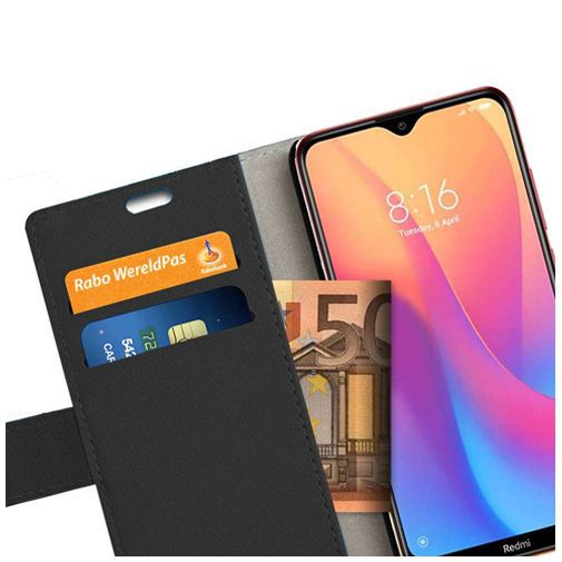 Productafbeelding van de Just in Case Wallet Case Black Xiaomi Redmi 8A