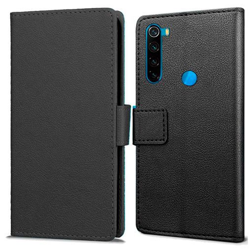 Productafbeelding van de Just in Case Wallet Case Black Xiaomi Redmi Note 8