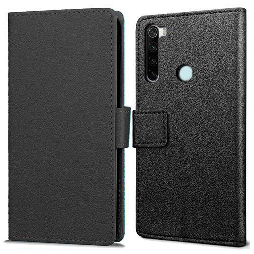 Productafbeelding van de Just in Case Wallet Case Black Xiaomi Redmi Note 8T