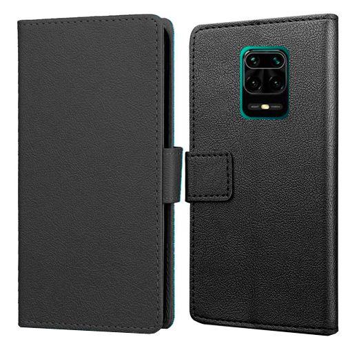 Productafbeelding van de Just in Case Wallet Case Black Xiaomi Redmi Note 9 Pro