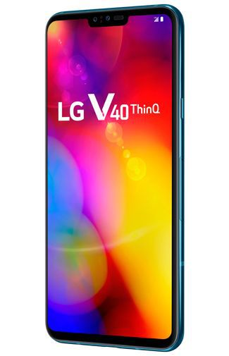Productafbeelding van de LG V40 ThinQ Blue