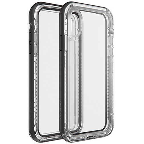 Productafbeelding van de Lifeproof Next Case Black Crystal Apple iPhone XR