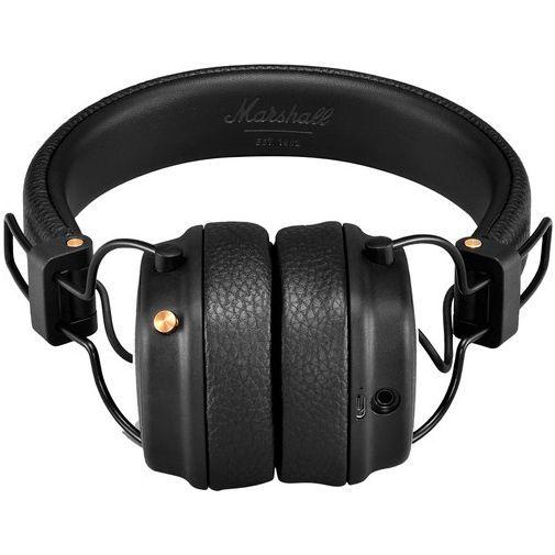 Produktimage des Marshall Major 3 Bluetooth Schwarz