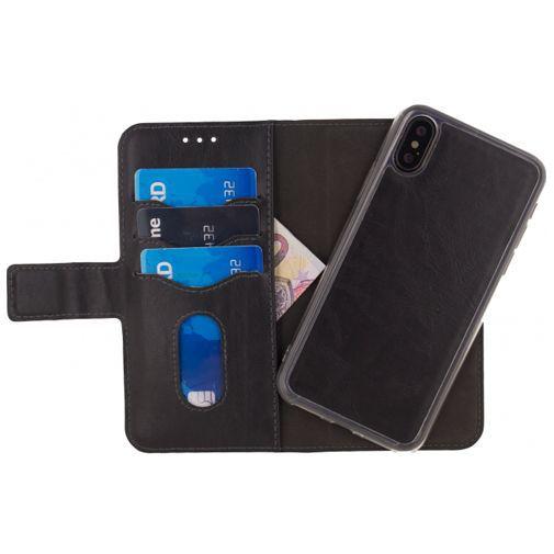 Productafbeelding van de Mobilize 2-in-1 Gelly Wallet Case Black Apple iPhone X/XS