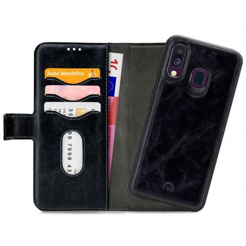 Productafbeelding van de Mobilize 2-in-1 Gelly Wallet Case Black Samsung Galaxy A40