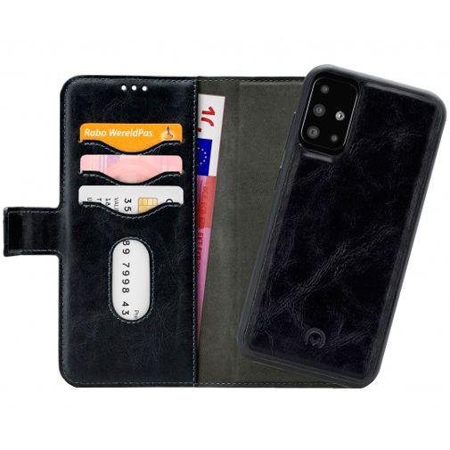Productafbeelding van de Mobilize 2-in-1 Gelly Wallet Case Black Samsung Galaxy A51 4G