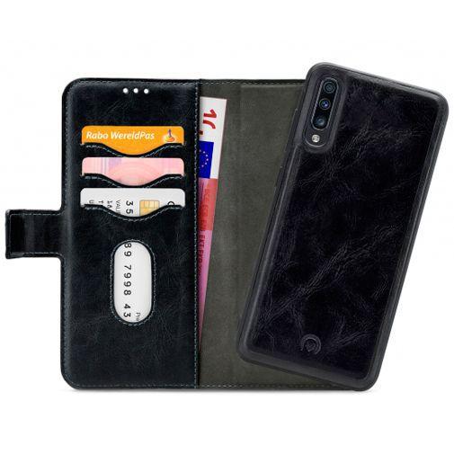Productafbeelding van de Mobilize 2-in-1 Gelly Wallet Case Black Samsung Galaxy A70