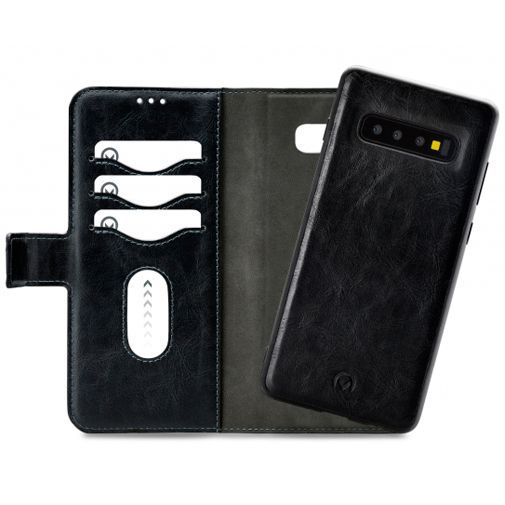 Productafbeelding van de Mobilize 2-in-1 Gelly Wallet Case Black Samsung Galaxy S10