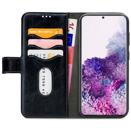 Productafbeelding van de Mobilize 2-in-1 Gelly Wallet Case Black Samsung Galaxy S20+
