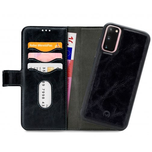 Productafbeelding van de Mobilize 2-in-1 Gelly Wallet Case Black Samsung Galaxy S20
