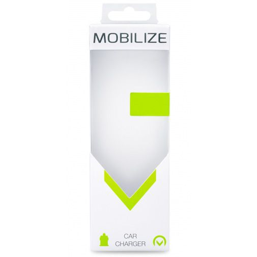 Produktimage des Mobilize Auto-Ladegerät USB-C + USB Schwarz