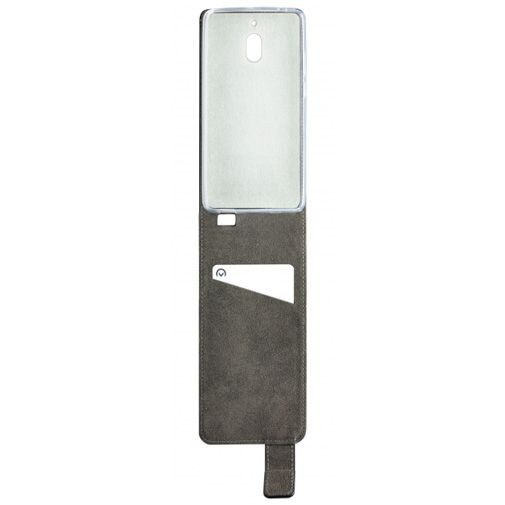 Produktimage des Mobilize Classic Gelly Flip Case Schwarz Nokia 6.1