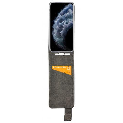 Productafbeelding van de Mobilize Classic Gelly Flip Case Black Apple iPhone 11 Pro