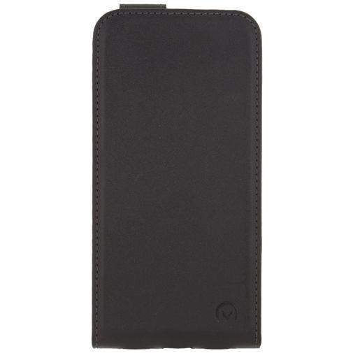 Produktimage des Mobilize Classic Gelly Flip Case Schwarz Apple iPhone X/XS