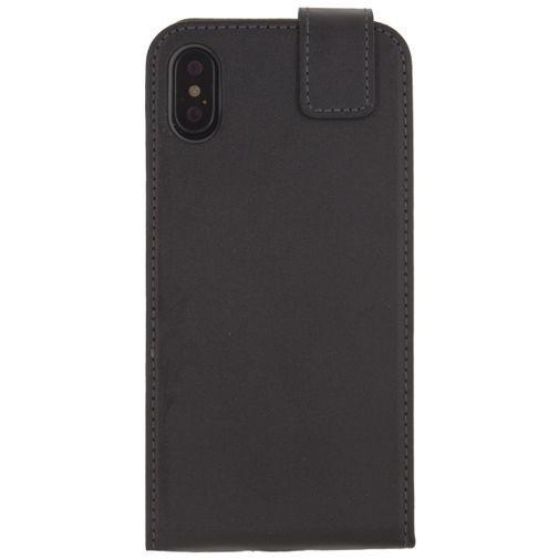 Productafbeelding van de Mobilize Classic Gelly Flip Case Black Apple iPhone X/XS