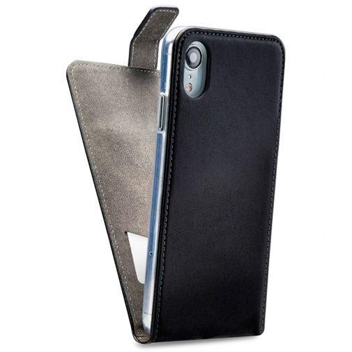 Produktimage des Mobilize Classic Gelly Flip Case Schwarz Apple iPhone XR