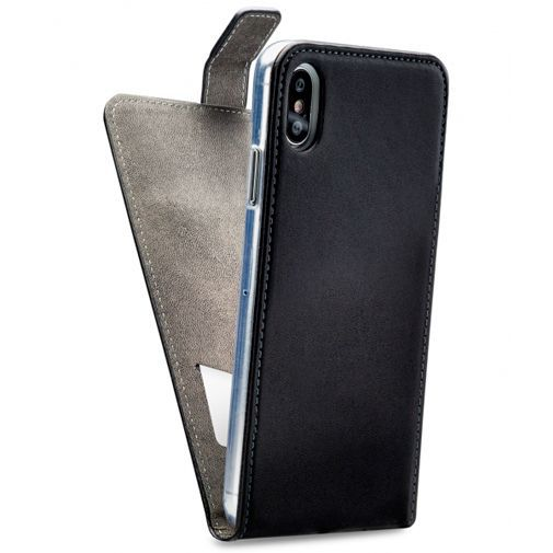 Productafbeelding van de Mobilize Classic Gelly Flip Case Black Apple iPhone XS Max