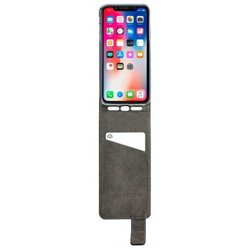 Productafbeelding van de Mobilize Classic Gelly Flip Case Black Apple iPhone XS Max