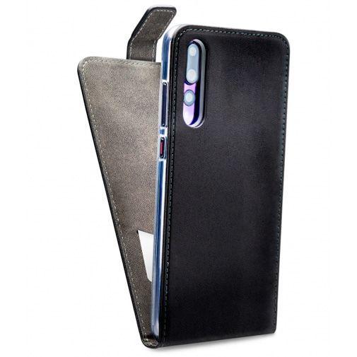 Productafbeelding van de Mobilize Classic Gelly Flip Case Black Huawei P20 Pro