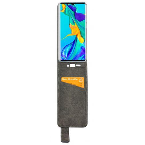 Productafbeelding van de Mobilize Classic Gelly Flip Case Black Huawei P30 Pro