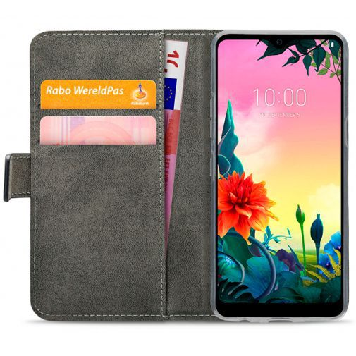 Productafbeelding van de Mobilize Classic Gelly Wallet Book Case Black LG K50s